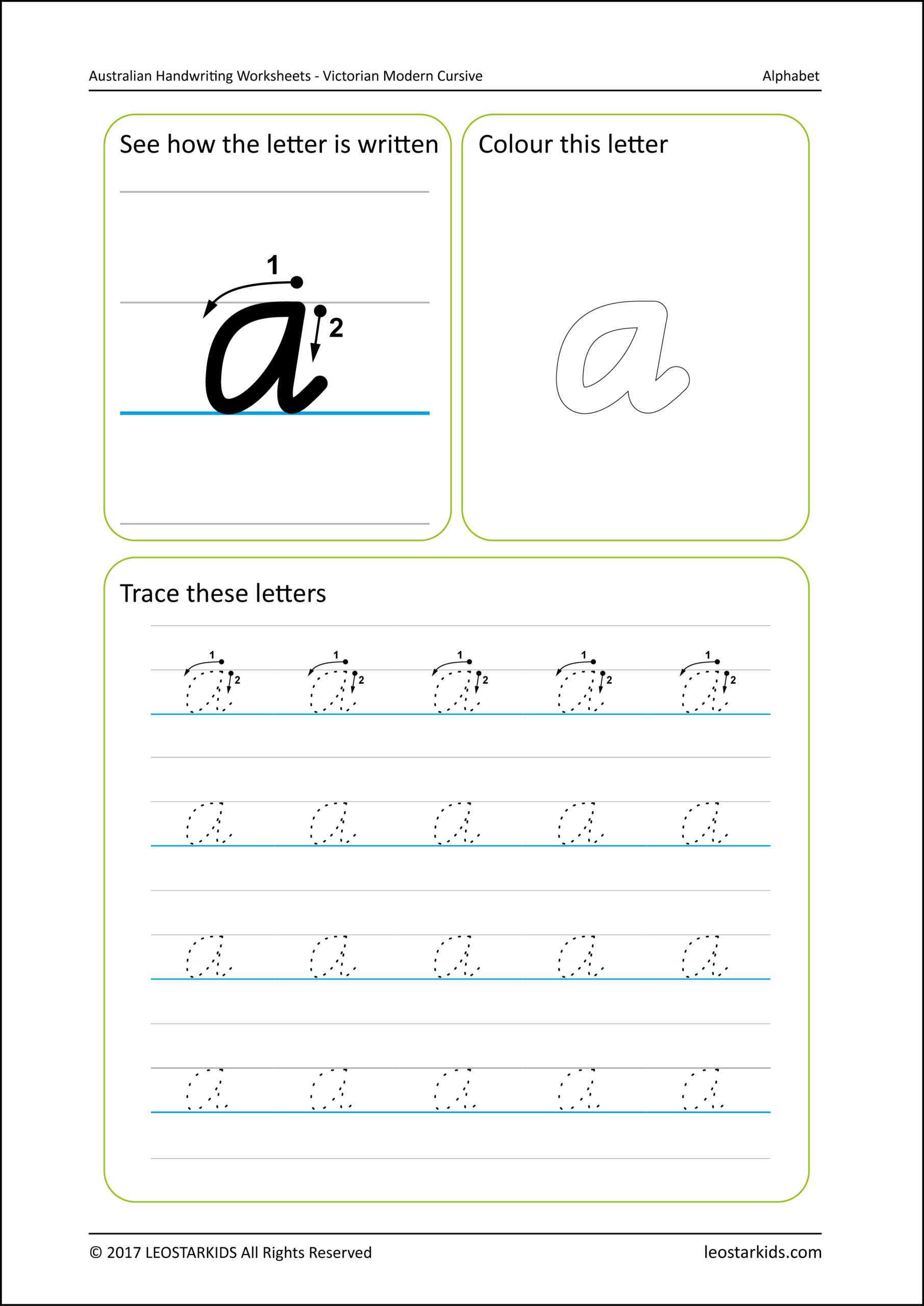 Name Tracing Template Qld Font