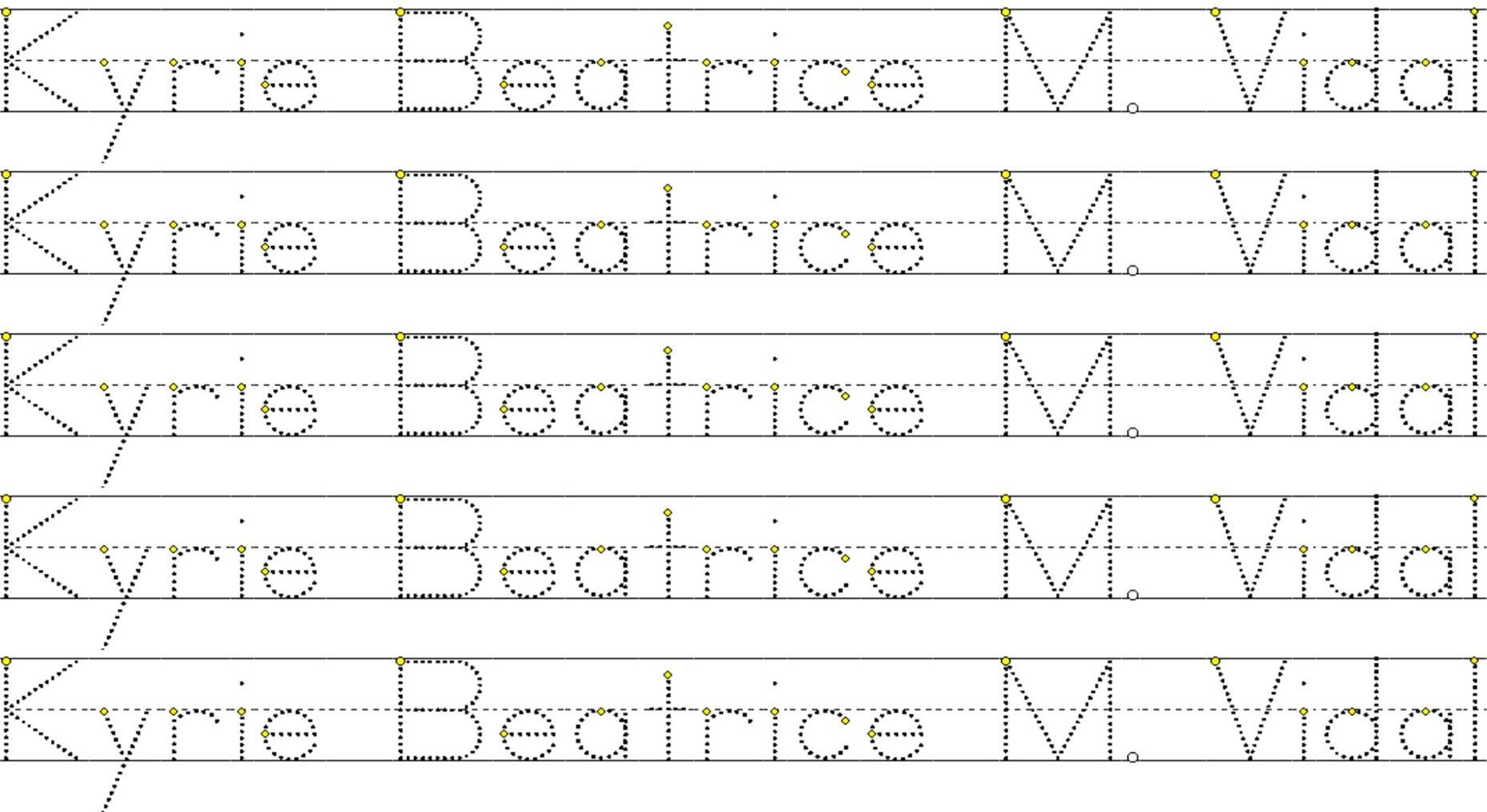 Create A Tracing Name