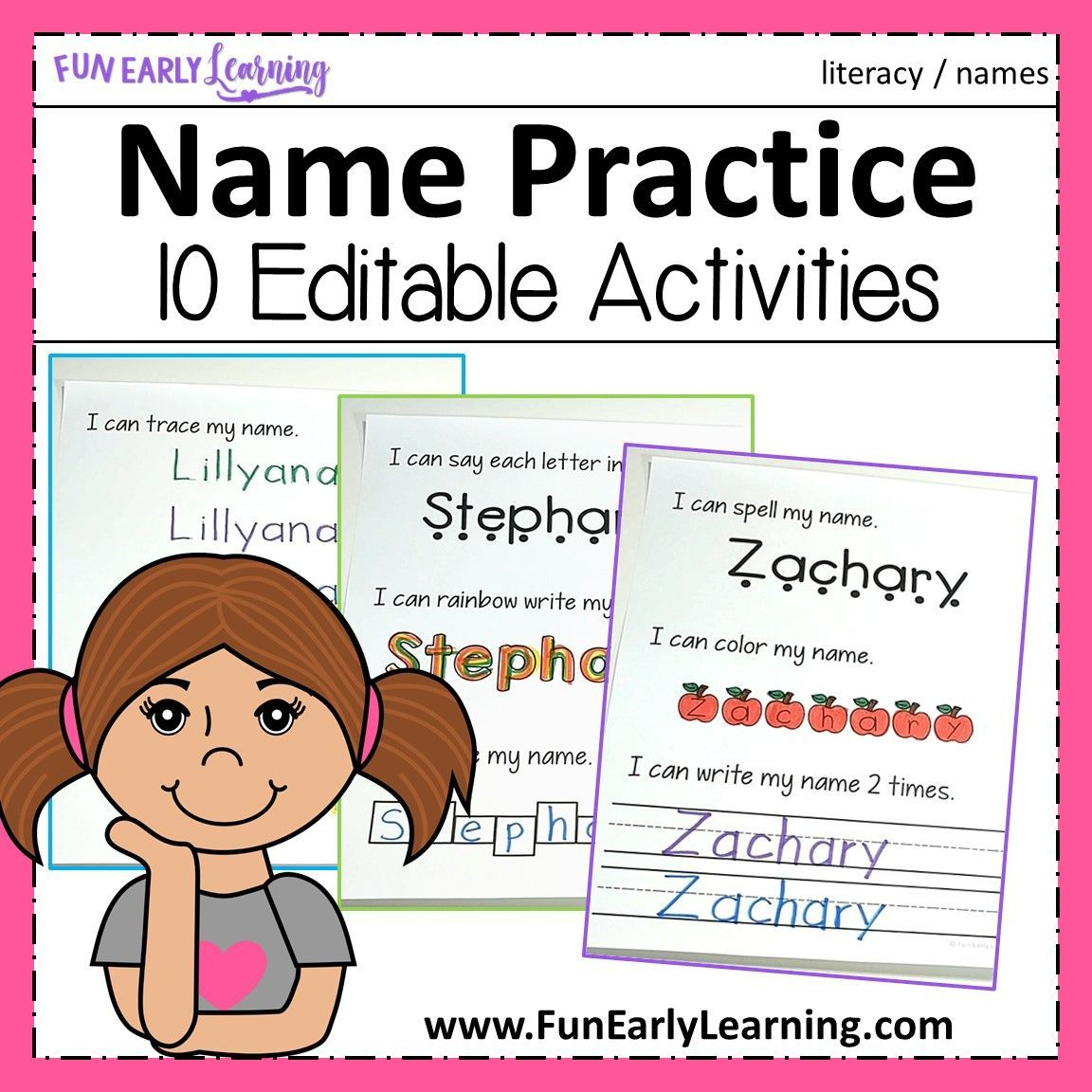 Zachary Name Tracing