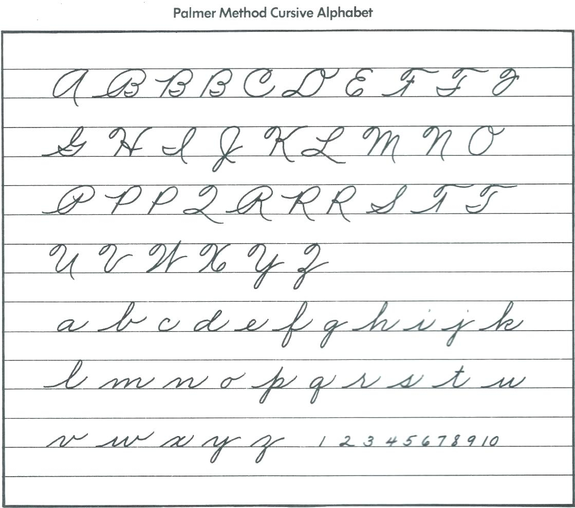 Name Tracing Generator Cursive