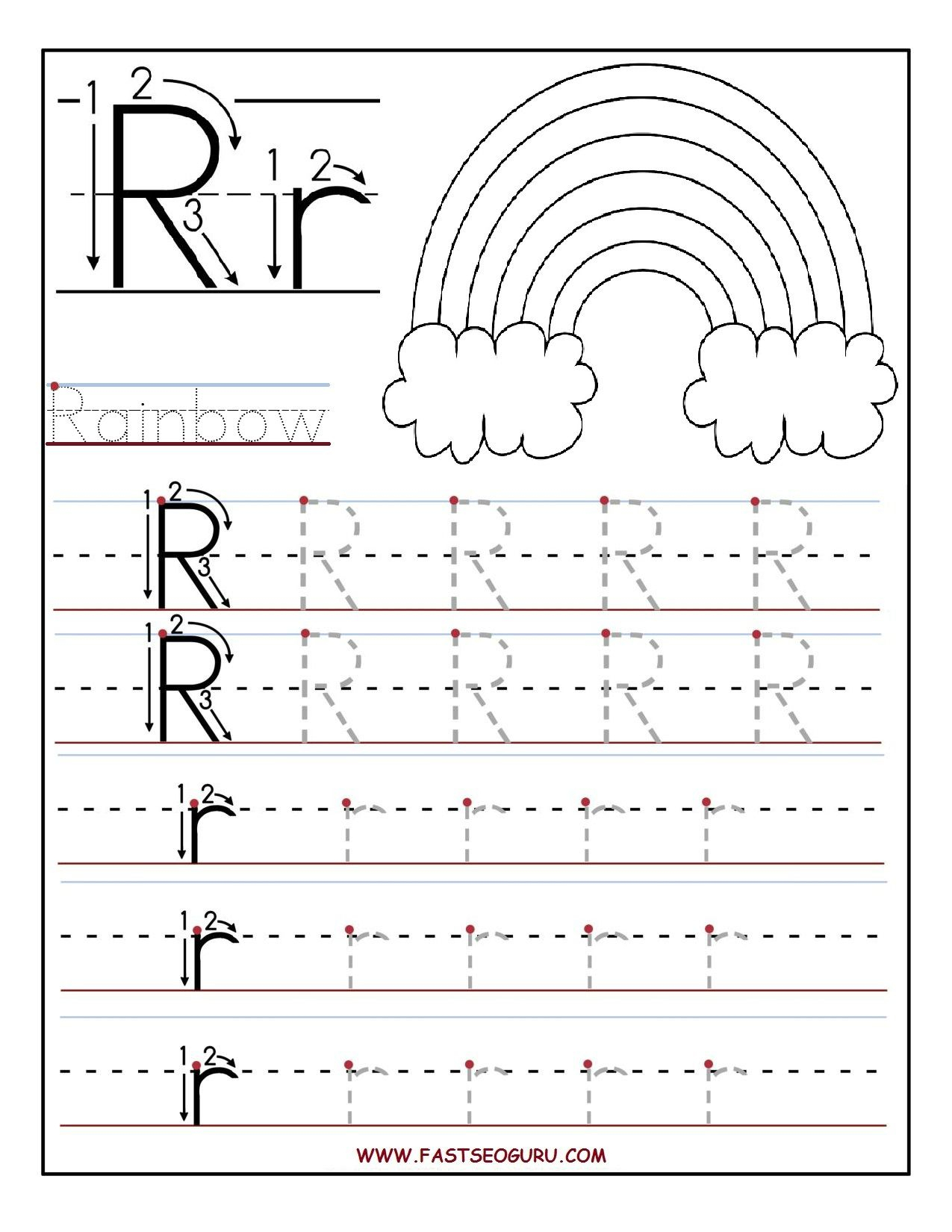 Alphabet Worksheets Grade R