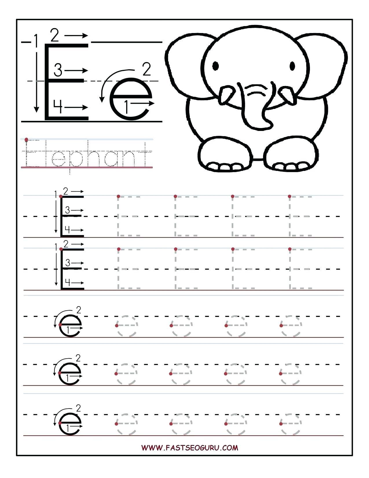 Alphabet Worksheets Kidslearningstation