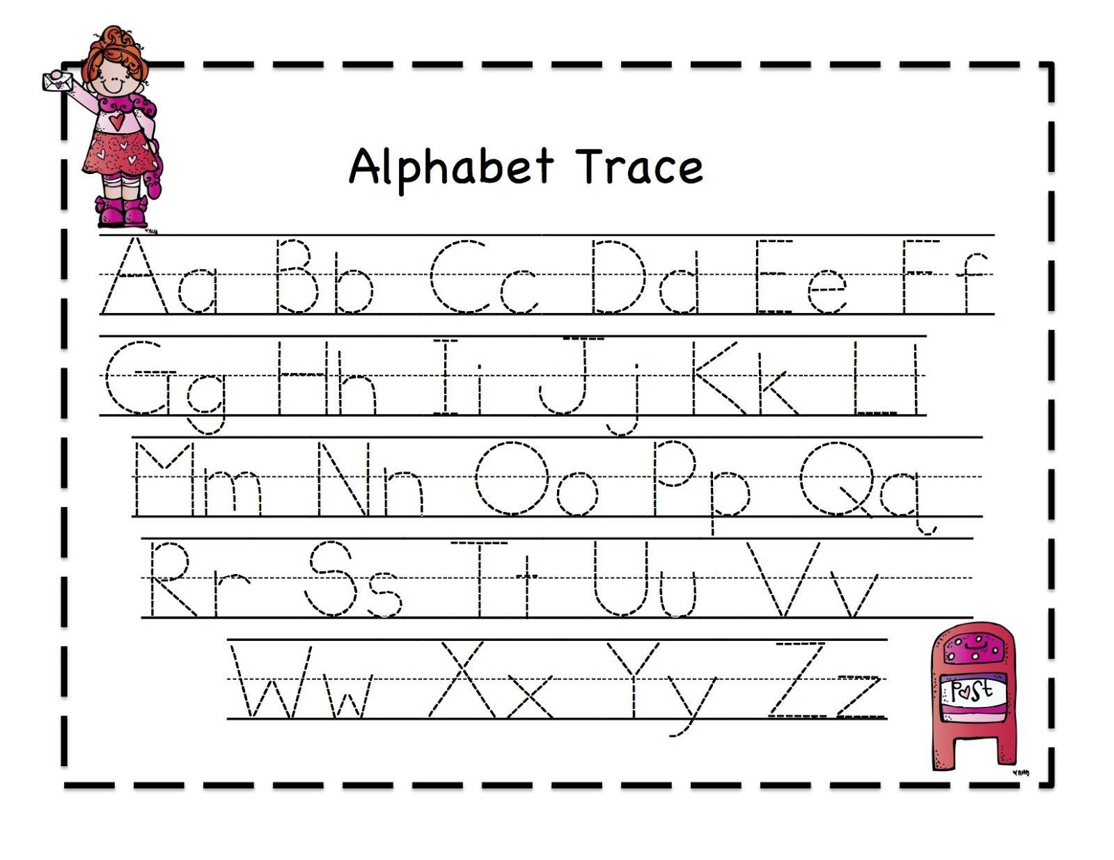 Abc Tracing Worksheets