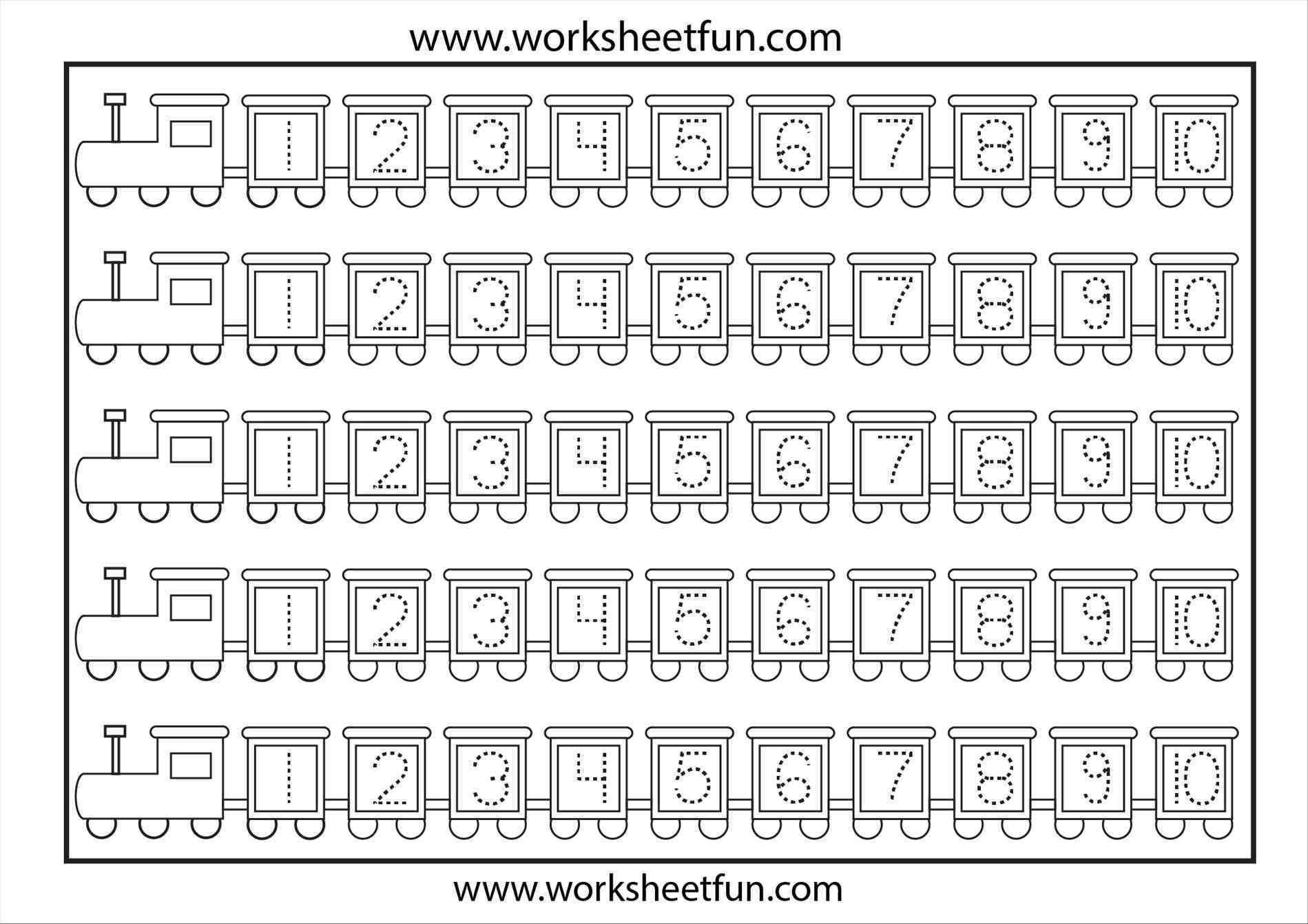 Free Tracing Numbers 1 100 Worksheets