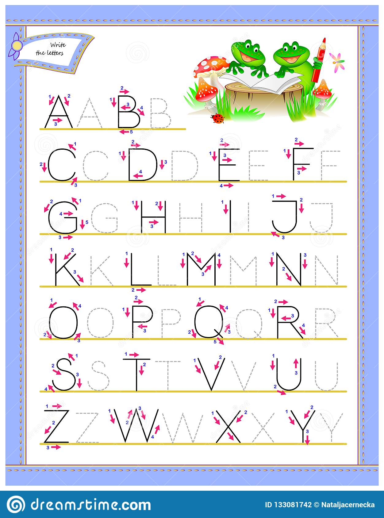 Alphabet Identification Worksheets