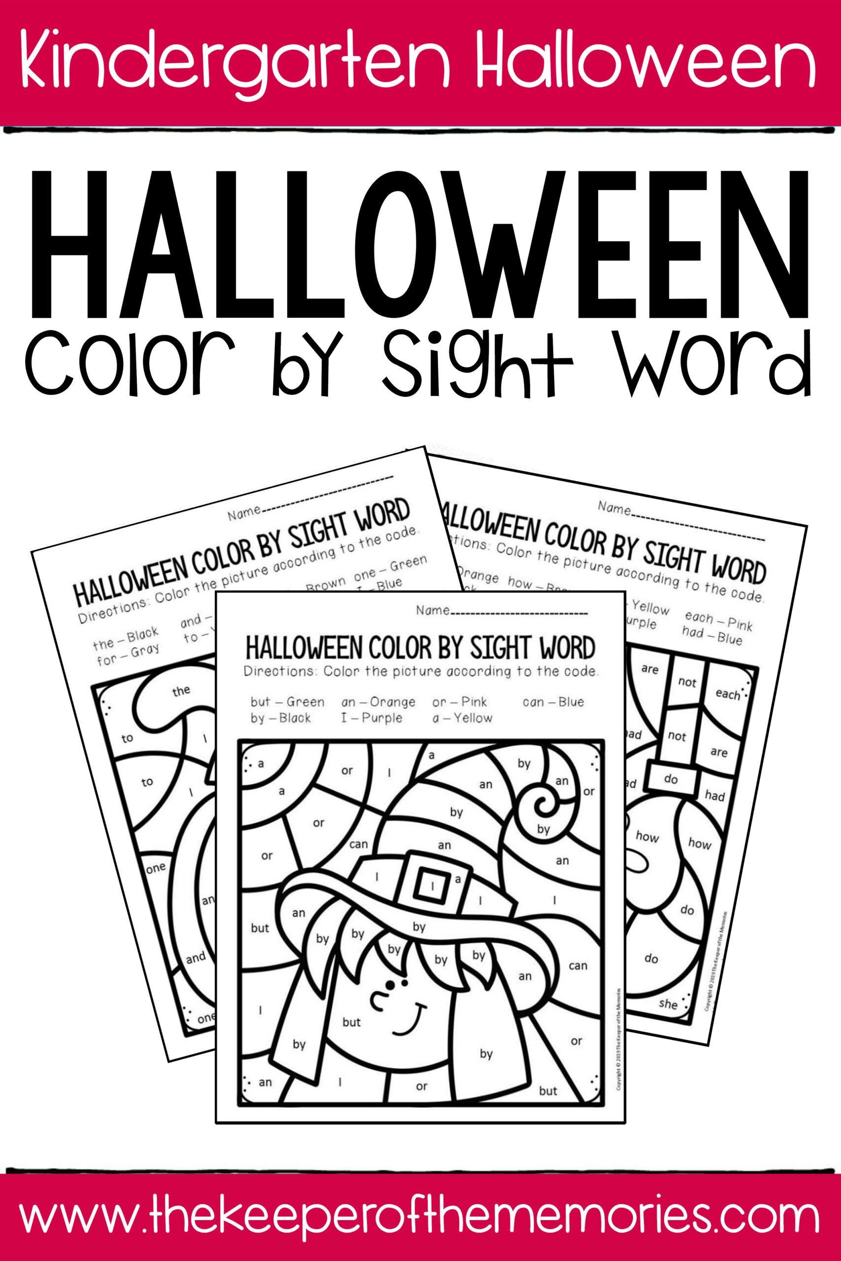 Halloween Nouns Worksheet Freebie