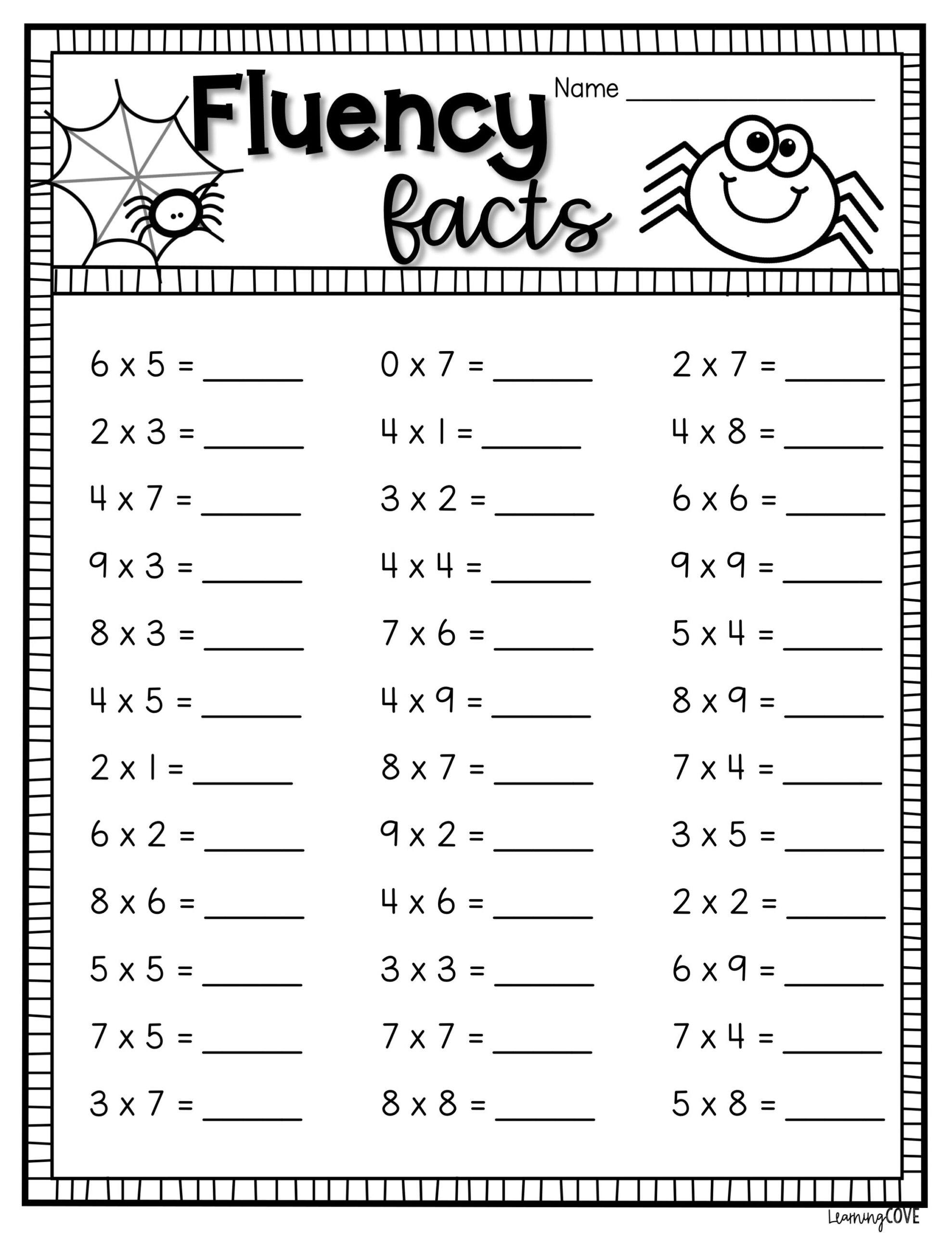 Halloween Math Worksheets For Grade 6