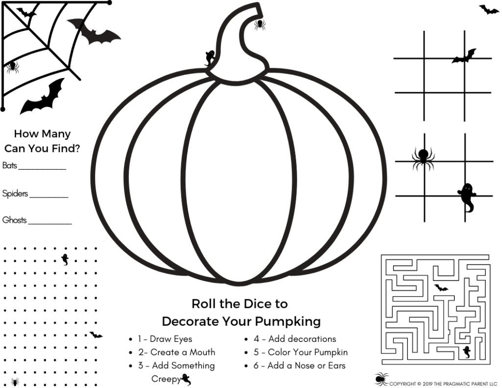 Power Of 10 Halloween Worksheet