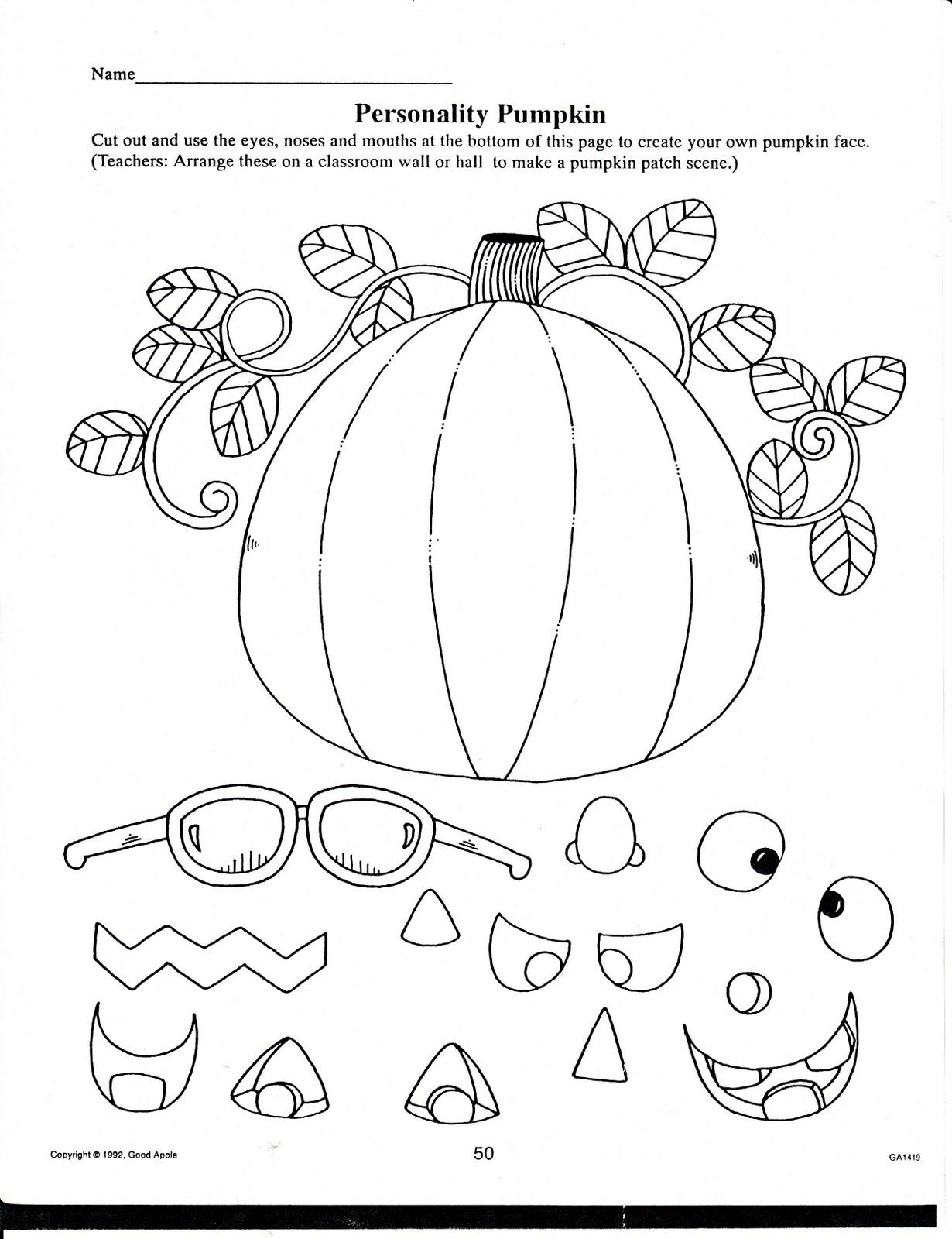 Math Halloween Worksheets For Kindergarten