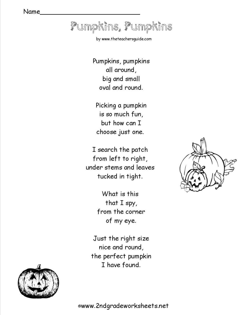 Halloween Word Problems Worksheets 2nd Grade