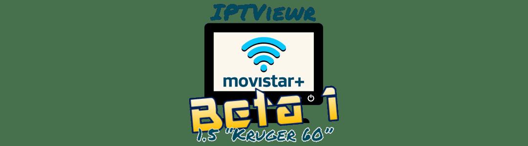 "Logo: IPTViewr 1.5 ""Kruger 60"" beta 1"