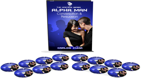 discs copy - Carlos Xuma - Alpha Man Conversation & Persuasion