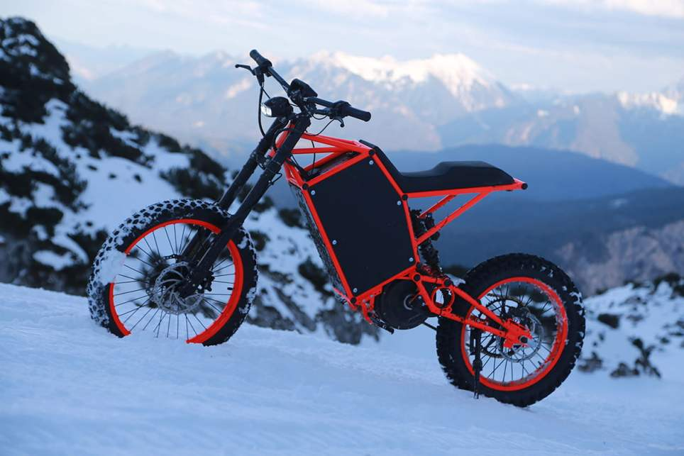Vector Vortex Electric Dirt Bike