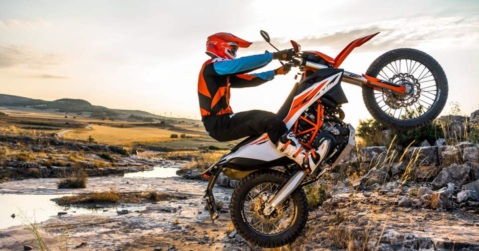 KTM 690 Enduro R Dual Sport Motorcycle