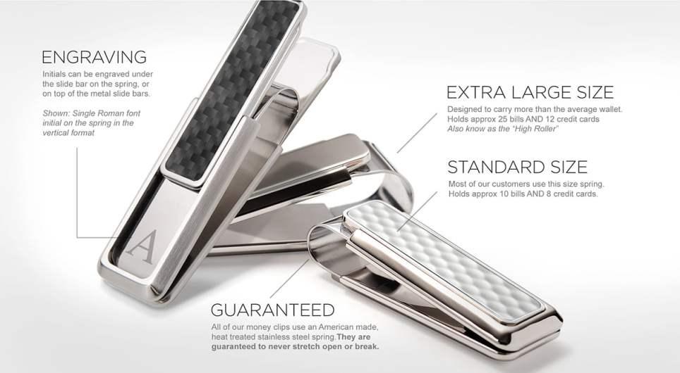 M-Clip Ultralight V Series Money Clip