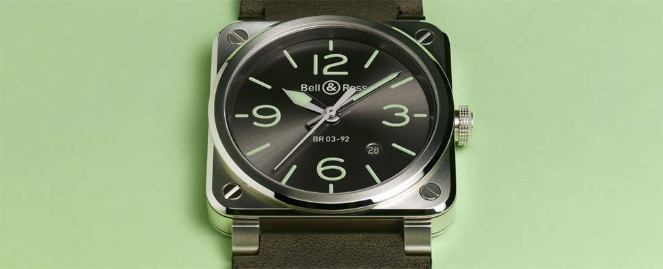 Bell and Ross BR 03-92 Grey Lum