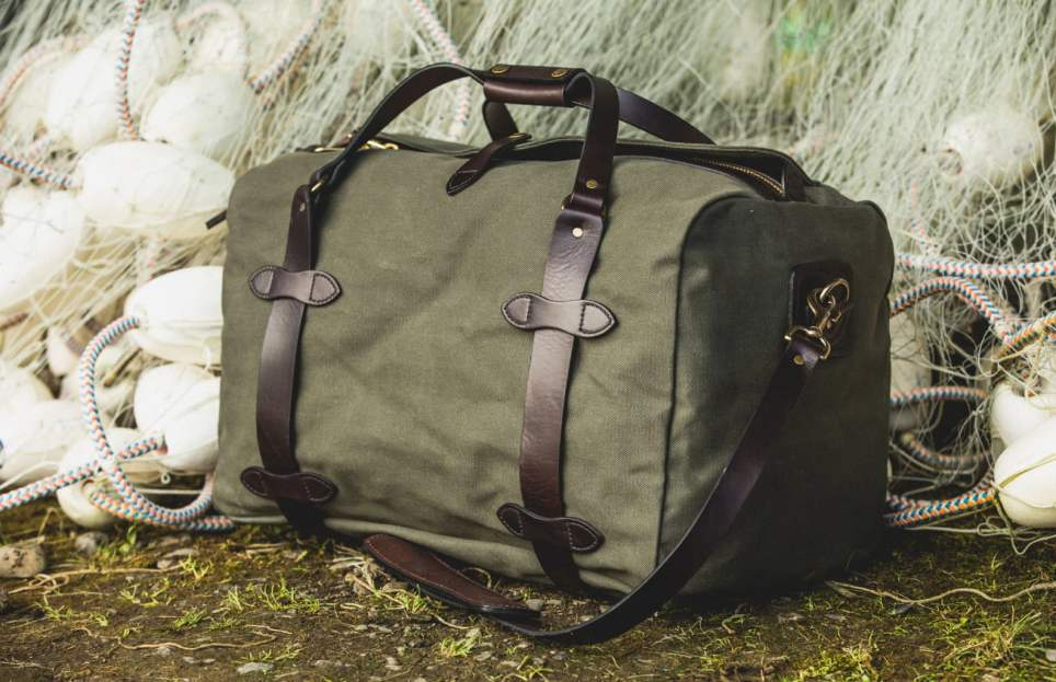 Filson Medium Rugged Twill Duffle Bag