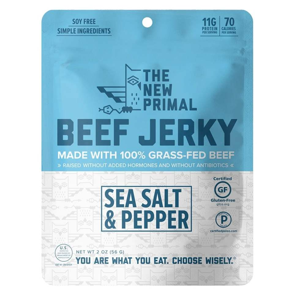 Sea Salt and Pepper Beef Jerky
