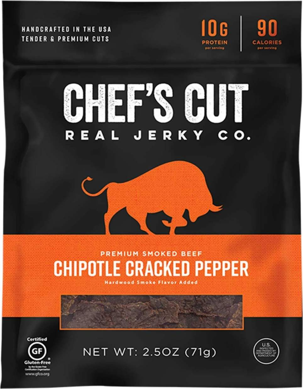 Chef's Cut Real Jerky Co. Chipotle Cracked Pepper