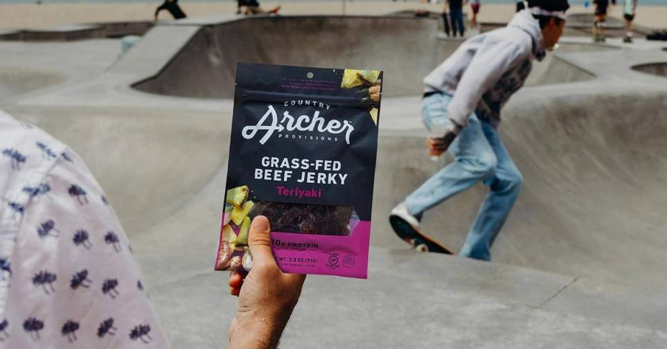 Country Archer Grass-fed Beef Jerky for Men