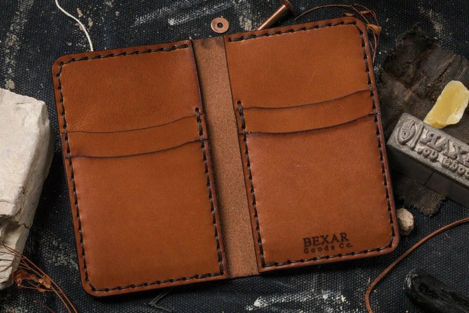 Bexar Vertical Card Wallet