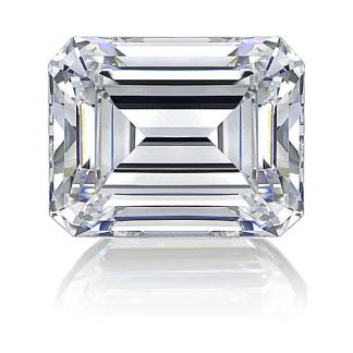 Man-made diamond_emeraldcut_160
