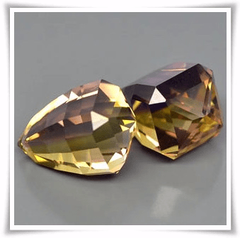 GemRock-Wellness_26.28 Ct. Golden Ametrine Briolette_A pair_907A