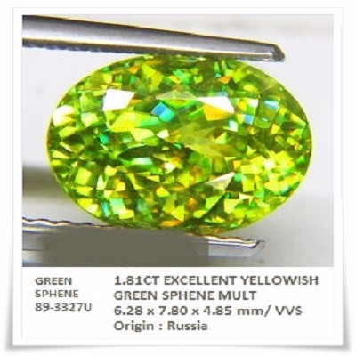GemRock-Wellness_1.81ct. Yellowish Green Sphene_786