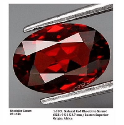 gemstones_GemRock-Wellness_1.62ct. Red Rhodolite Garnet_564