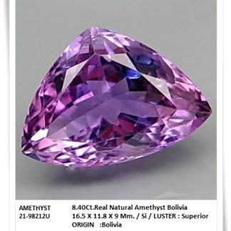 gemstones_GemRock-Wellness_8.40ct. Amethyst Bolivia