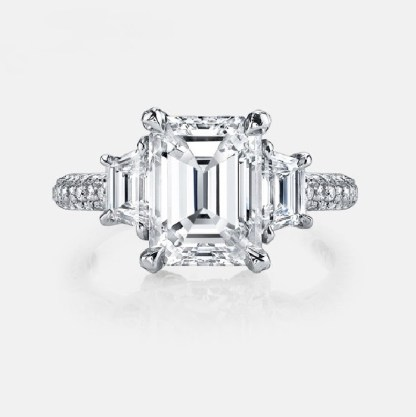 ESQUEL-1819B-Simulated-diamond-4-Carat-Emerald-Cut-925-Sterling-Silver