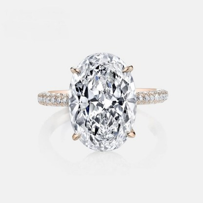 ESQUEL-R1812B-Simulated-diamond-925-Sterling-Silver-Ring-Rose-Gold-5-Carat-Big-Oval-Cut-Ring