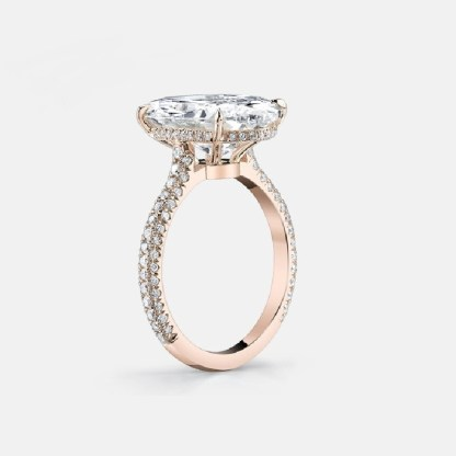 ESQUEL-R1812C-Simulated-diamond-925-Sterling-Silver-Ring-Rose-Gold-5-Carat-Big-Oval-Cut-Ring