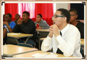Mentoring - Esquire absorbing information on the responsibility of the male in teen dating relationships.