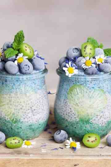 Oceanic Chia Recipe in jars