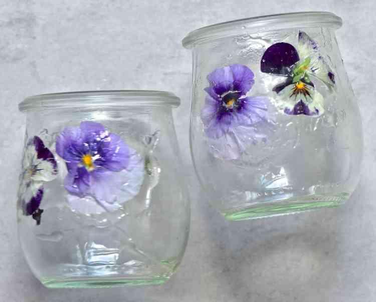 Flowers stuck in a jar