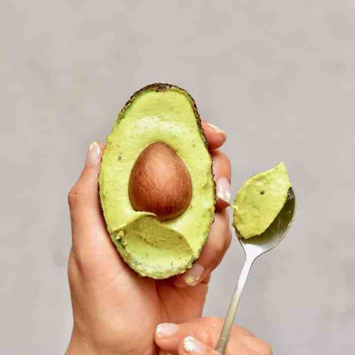 Simple 4-Ingredient Avocado Ice Cream