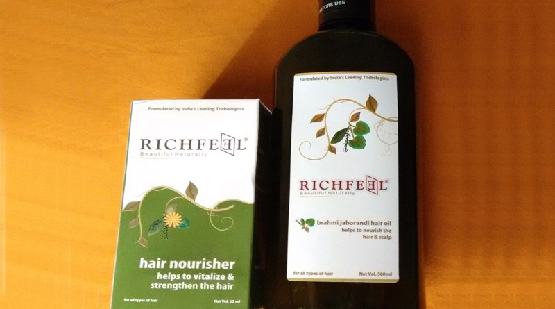 Richfeel Bramhi Jaborandi Hair Oil Review