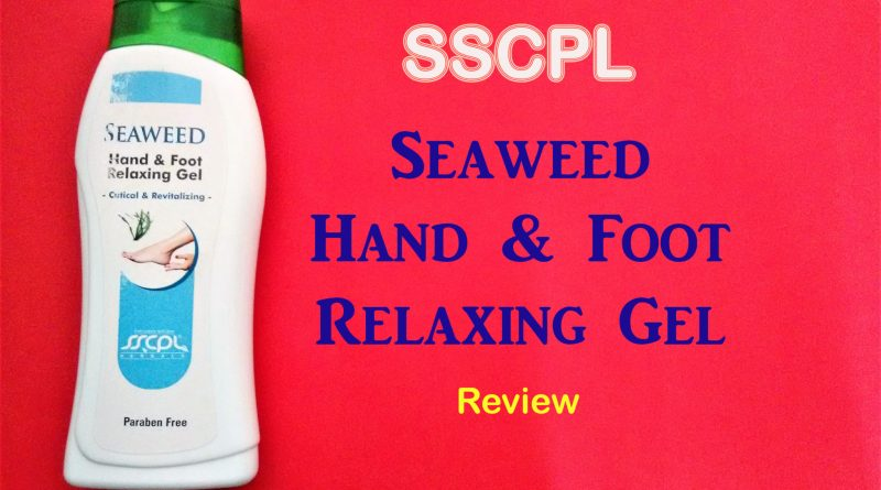 Seaweed Hand and Foot Relaxing Gel Review