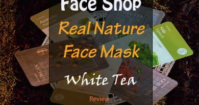 White Tea Mask Review