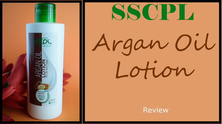 SSCPL Herbals Argan Oil Body Lotion Review