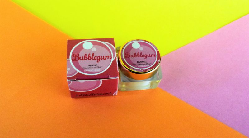 Nyassa Bubblegum Lip Balm Review