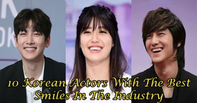 10 Korean Actors With The Best Smiles In The Industry