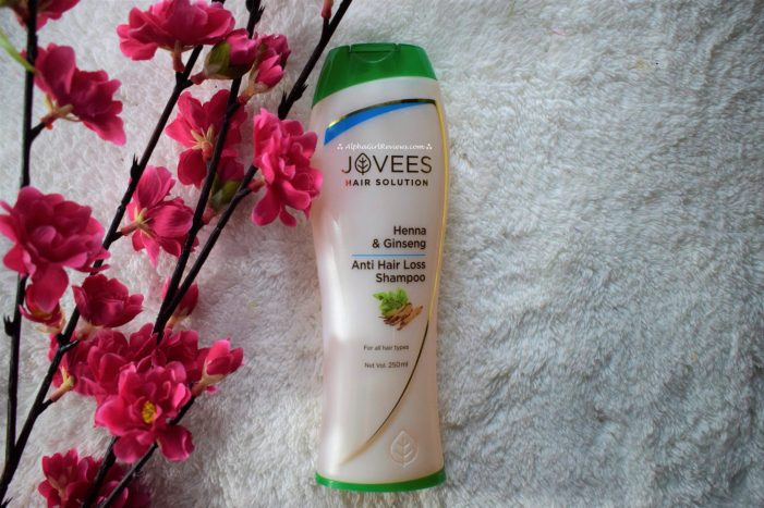 Jovees Hair Solution Anti Hair Loss Shampoo Review