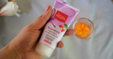 Swiss Tempelle Ever White Face Wash Review