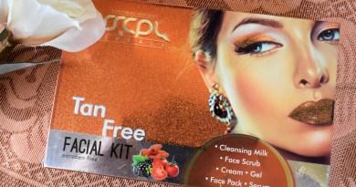 SSCPL Herbals Tan Free Facial Kit Review: De-Tans' In One Facial