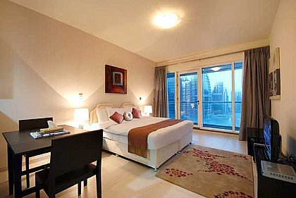 Studio Apartment In Jumeirah Lake Towers Alpha Holiday