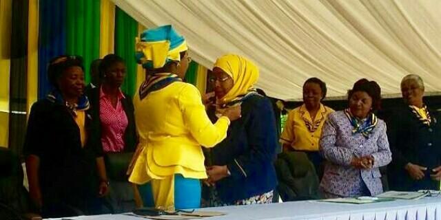 Mama Salma Kikwete akabidhi kijiti!…….Mama Samia Suluhu awa mlezi mpya wa Girl Guides Association!