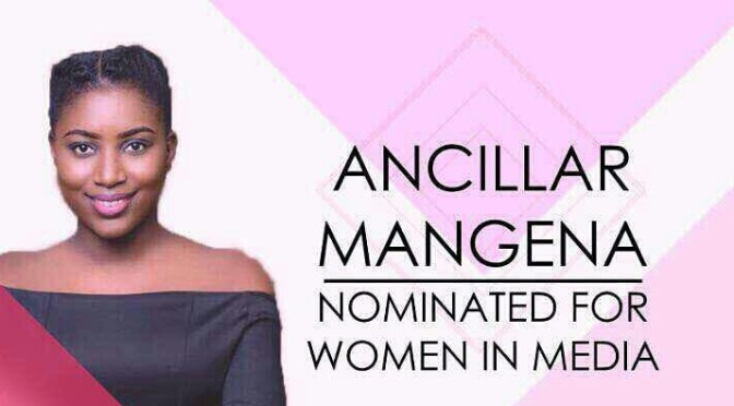 Women in the media: Vote for Ancillar Mangena