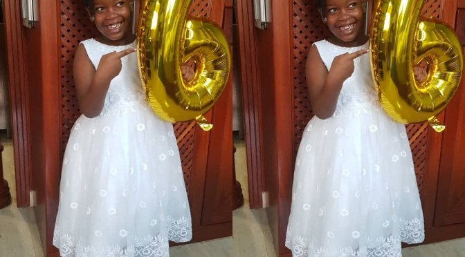 Keeping up with Blessing: Happy sixth birthday